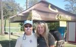 Suzie Cooney with Elder Sup, Judy