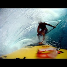 Chuck Patterson, early GoPro sample of awesome! This is at Teahupoo