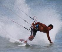 Marti'n grabs all the board sports with gusto