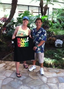 Alex Sumibcay - the artist and entrepreneurial force behind SUPMauiHawaii