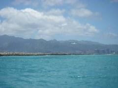 Wide open downwind spaces - heading toward Waikiki