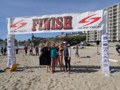 Four amazing waterwomen at the March 2013 Surftech Shootout