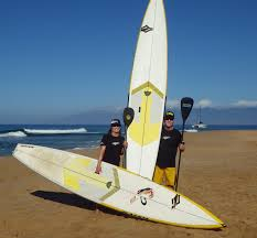 Champing at the bit to get on  Naish 14' Glides on Maui