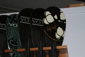 The KIALOA Paddles Hulu race series of paddles will soon be joined by the Hulu surf series.