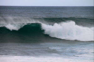 Defining moment, uncaught wave of the day. And that was a good thing!