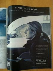 This KIALOA Paddles ad with Karen Wrenn inspired my that 56 degree morning in July