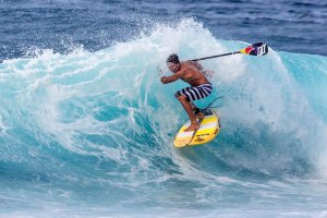 Kai Lenny scoring some sweet Maui waves and riding Naish all the way