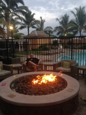 The perfect place to kick back to relax, enjoy a beverage and talk-story as the sun sets