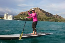 Peggy King has put in the training and downwind miles needed for the downwind racing season