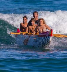 The Lenny family enjoys a close connection to the ocean - and to each other. Aloha, dreams, hard work and smiles.