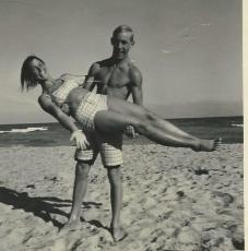 Me and Ed at Hollywood, FL beach in summer 1965. Yup, 50 years together.