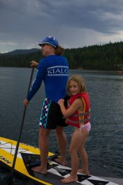 Paddling for the pure joy of sharing the water and the stoke