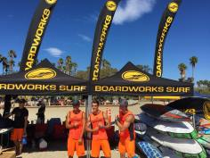 Some of the team from Boardworks Surf