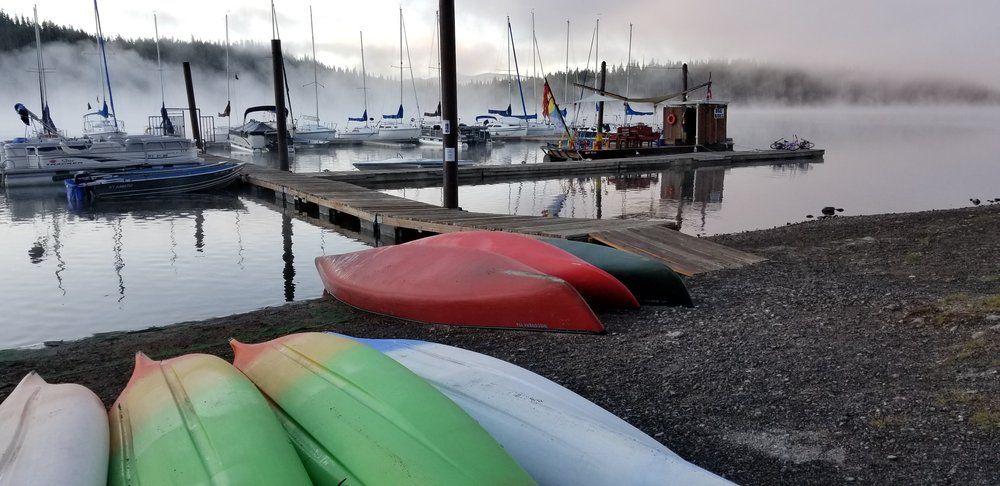 elk lake fog